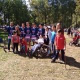 Встреча следж-хоккеистов команды «Атал» в парке имени А.Г. Николаева г. Чебоксары