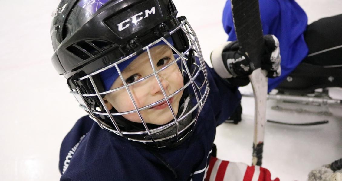 Детский следж-хоккей