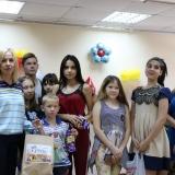 Посещение детского дома накануне 1 сентября