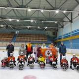 Детская следж-хоккейная команда «Медведи» г.Киров открыла новый сезон