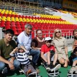 Команда по следж-хоккею «Атал» приняла участие в праздновании Дня физкультурника
