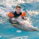 Кукушкин Федя вернулся из г. Анапа, где он проходил курс дельфинотерапии. Отзыв мамы Феди.