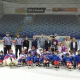 Торжественное открытие детской следж-хоккейной секции в Чувашии.